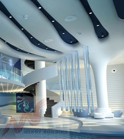商业大厅吊顶设计图